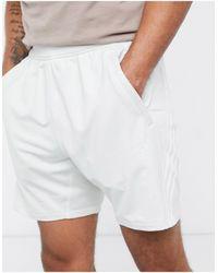 adidas Originals Серые Шорты С Тремя Полосками Adidas Training-серый