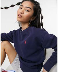 Polo Ralph Lauren Темно-синий Свитшот С Логотипом В Виде Пони