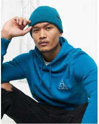 Huf - Essentials - Usual - Bonnet - Sarcelle - Lyst