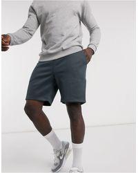 River Island Jersey Shorts - Gray