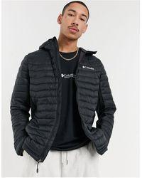 Columbia Черная Куртка С Капюшоном Powder Pass-черный Цвет