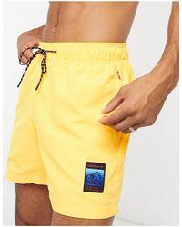 adidas Originals Adiplore Woven Shorts - Yellow