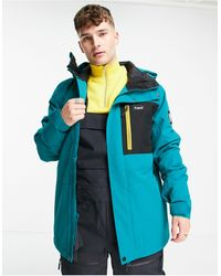 Planks Feel Good Insultated Ski Jacket - Blue