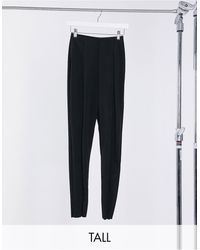 Missguided Cigarette Trouser - Black