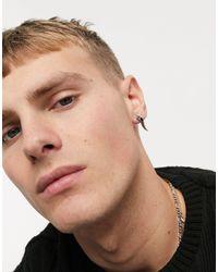 Reclaimed (vintage) Inspired Dragon Tail Earrings - Black