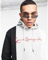 Karlkani Originals Block Hoodie - Grey
