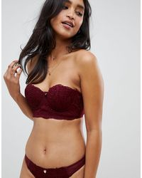 Lipsy – Simone – Lang geschnittener Spitzen-BH mit Bügeln - Mehrfarbig
