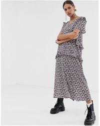 Résumé Resume Oprah Floral Print Midi Dress - Multicolour