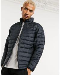 Columbia Черная Куртка Powder Lite-черный
