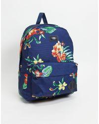 Vans Разноцветный Рюкзак Old Skool Iii-многоцветный - Синий