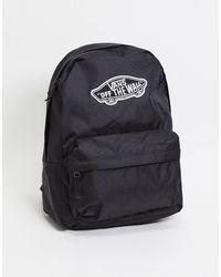 Vans Черный Рюкзак Realm-черный Цвет