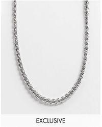 Reclaimed (vintage) – Inspired – farbene Halskette - Mehrfarbig