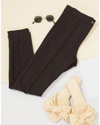 Mango Skinny Trousers - Blue