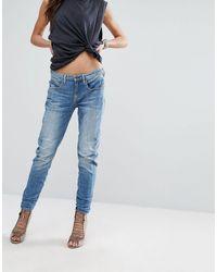 G-Star RAW Arc - Boyfriend jeans effetto 3D - Blu