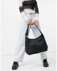 Weekday Carry Recycled Shoulder Bag - Black