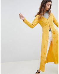 Miss Selfridge - Jacquard Jacket - Lyst