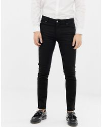 ASOS Skinny Jeans In Zwart