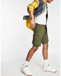 Only & Sons Pantaloncini cargo verdi - Verde