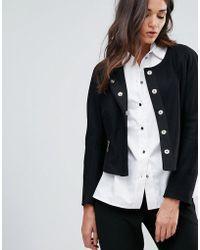 Closet - Closet Zip Pocket Wool Jacket - Lyst