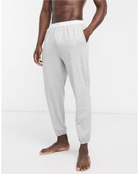 Calvin Klein Sleepwear Contrast Logo Waistband Trackies - Gray