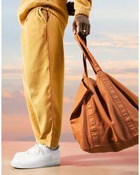 ASOS Organic Cotton Oversized Tote Bag - Brown
