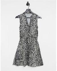 Oasis Shirt Dress - Black