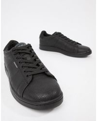 Converse Suede Star Player Sneakers In Black 155405c for Men