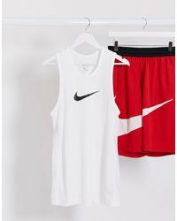 Nike Basketball Camiseta blanca sin mangas - Blanco
