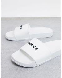 Nicce London Slider - White