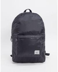 Herschel Supply Co. – Verstaubarer Backpack - Schwarz
