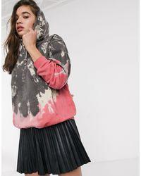 New Girl Order Oversized Hoodie - Multicolour