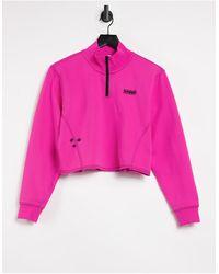 Vans Фиолетовый Топ С Высоким Воротом Thread It-фиолетовый Цвет - Розовый
