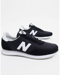 New Balance Черные Замшевые Кроссовки 373-черный