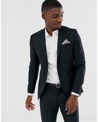 Jack & Jones Черный Эластичный Приталенный Пиджак Premium-черный Цвет