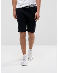 ASOS - Skinny Short With Contrast Waistband - Lyst