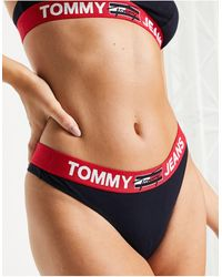 Tommy Hilfiger Tommy Jeans – Tanga - Mehrfarbig