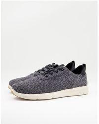 TOMS Sneakers stringate nere - Nero
