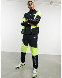 Ellesse X Smiley Orvieto Panel Trackpants - Black