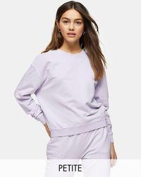 Topshop Unique Sweat-shirt - Lilas - Violet