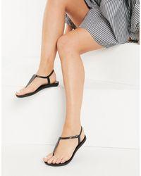 Ipanema Pop Glitter Sandals - Black