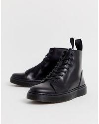 Dr. Martens - Черные Ботинки Со Шнуровкой На 8 Пар Люверсов Тalib-черный - Lyst