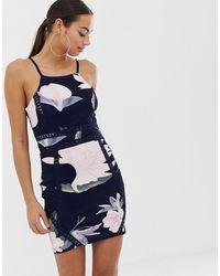 AX Paris - Mini-jurk Met Bandjes - Lyst