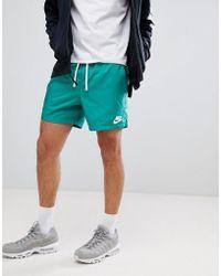 Nike - Short en tissu tiss - Lyst
