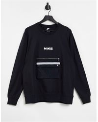 Nike City Made Pack - Sweat-shirt ras - Noir