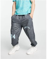 Adolescent Clothing Lounge Unwind Oversized jogger - Green