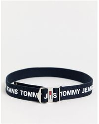 Tommy Hilfiger Тканый Ремень -темно-синий