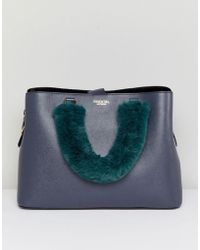 Essentiel Antwerp - Faux Fur Handle Bag - Lyst