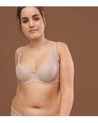 Ashley Graham - High Apex Blush Nude Tshirt Bra In Fair - Lyst