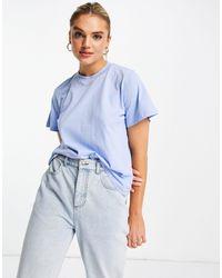 & Other Stories T-shirt en coton biologique - Bleu