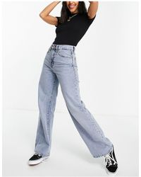 ONLY Hope Wide Leg Jeans With High Wasit - Blue
